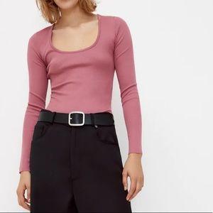 ✨NEW!✨ Zara Pink Bodysuit